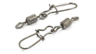 Вертлюг цилиндр с накаткой с застёжкой duo-Lock