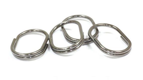 Кольцо заводное овальное